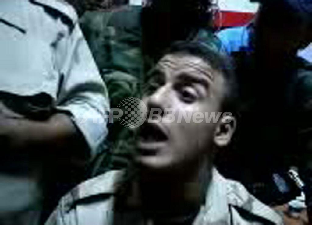 「カダフィは俺が殺した」、リビアの若い戦闘員の動画がネットに