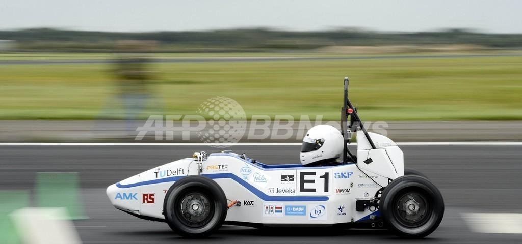 オランダの電気自動車、加速度世界記録を更新