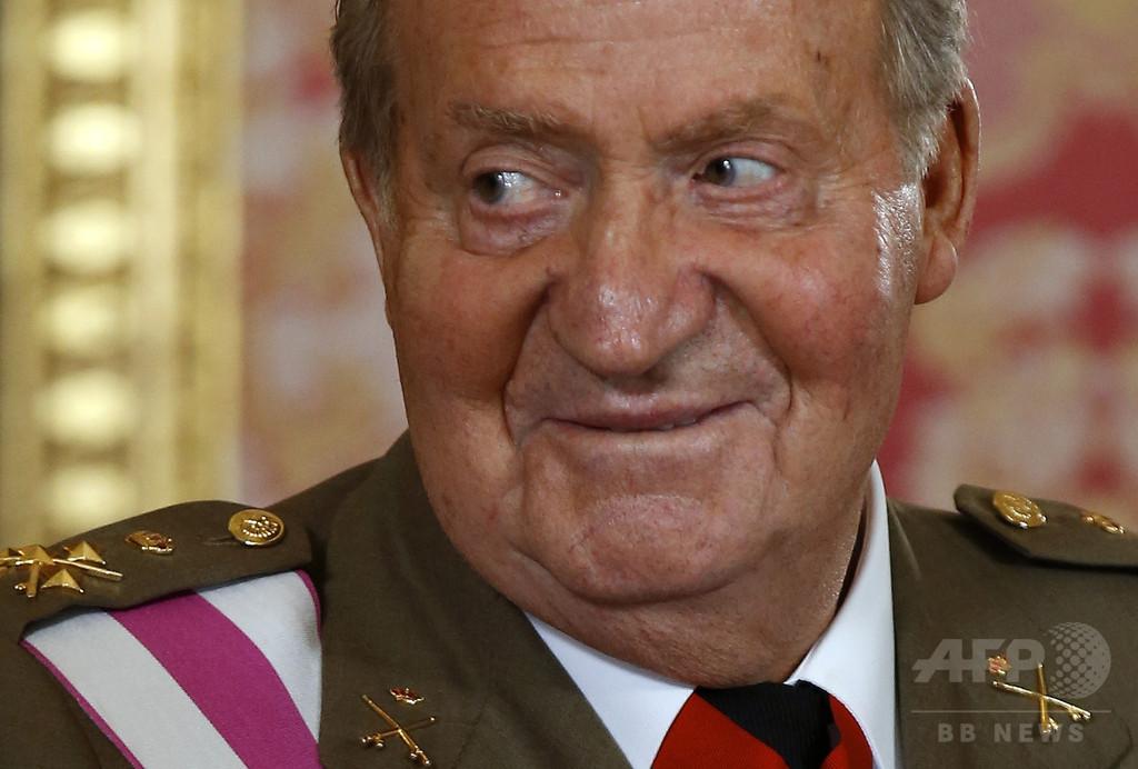 「前国王が私の父」、スペイン最高裁 認知訴訟の訴状受け取る
