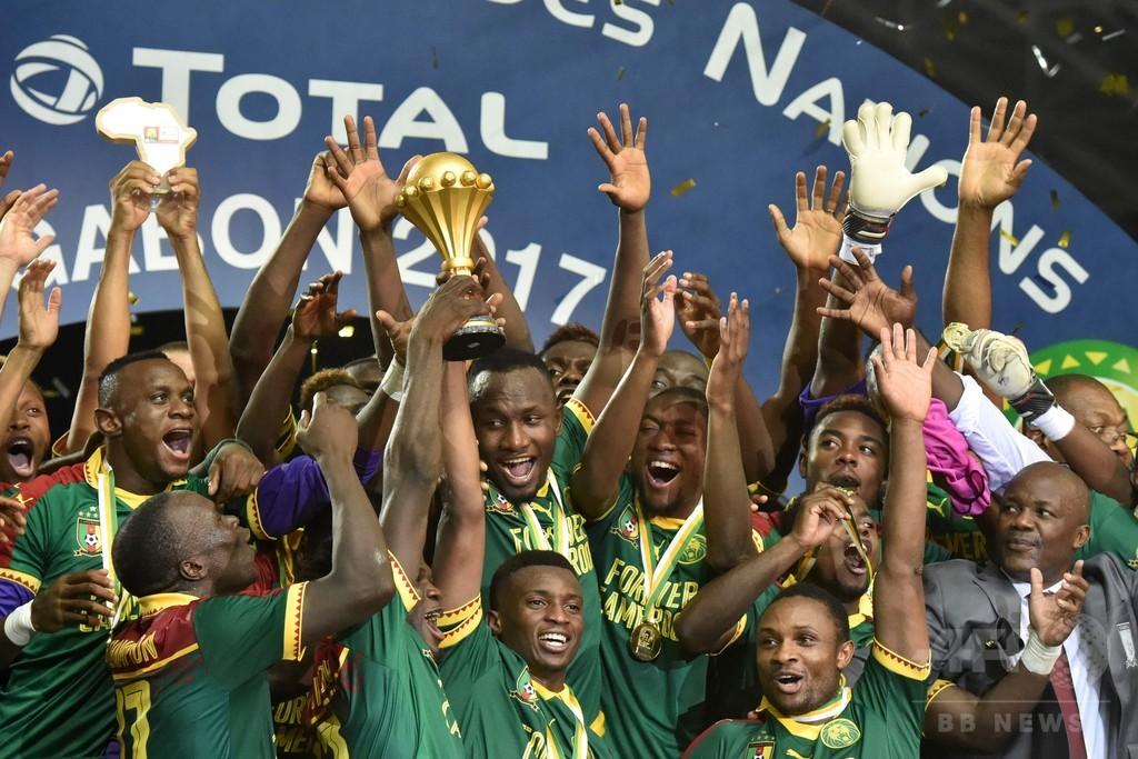 不屈のライオンが15年ぶりのネーションズカップ制覇、カメルーンが逆転でエジプト破る
