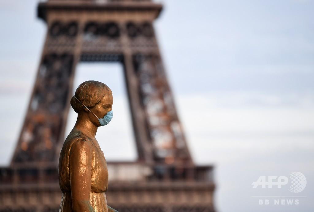 フランス、新型コロナ対策の緊急事態を7月24日まで延長へ