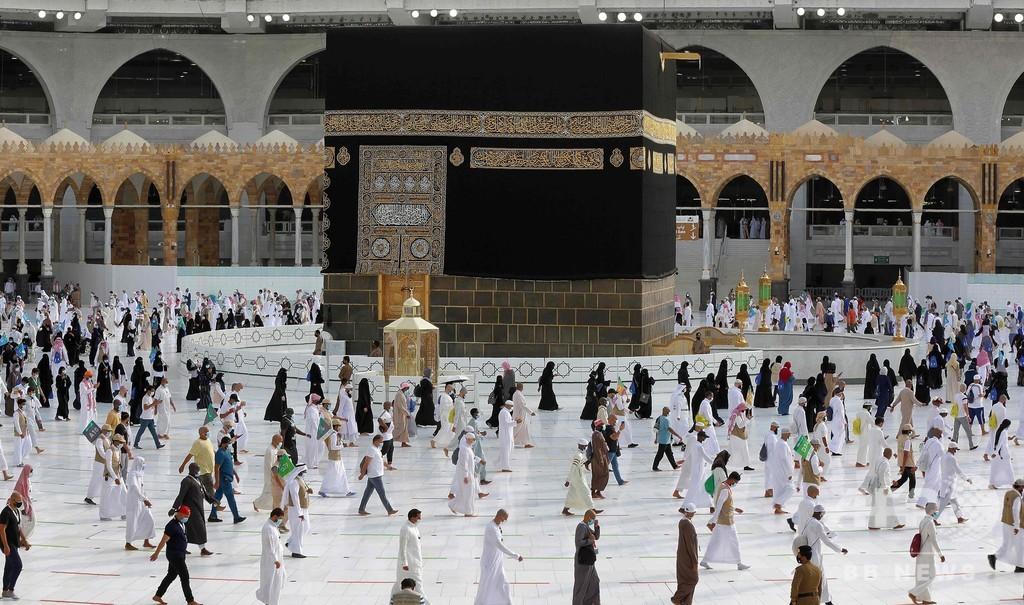 コロナで規模縮小のメッカ大巡礼が終了 サウジアラビア 写真6枚 国際 ...