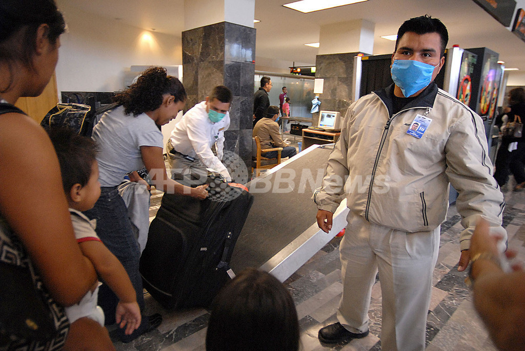 豚インフルエンザ、メキシコの死者81人に