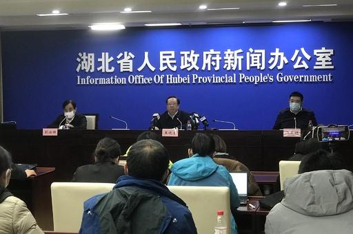 新型肺炎の患者数、1000人増加の可能性 武漢市市長