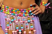 セクシーなチョコレートドレスも披露、レバノンで食の祭典開幕