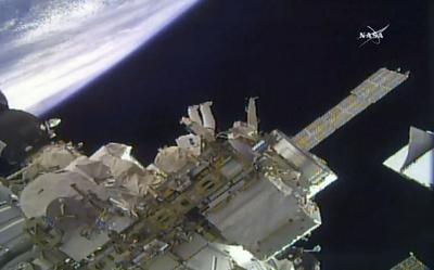 ISSの気圧低下、意図的妨害で穴開けた可能性 ロ宇宙企業トップ指摘