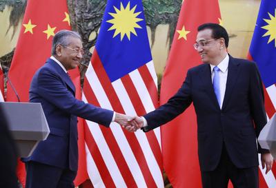 財政深刻なマレーシア、中国の支援「信じている」とマハティール首相