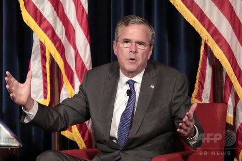 ジェブ・ブッシュ氏、アジア人が生得市民権を乱用と非難