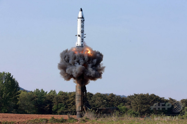 国連安保理、北のミサイル発射を強く非難 制裁強化へ