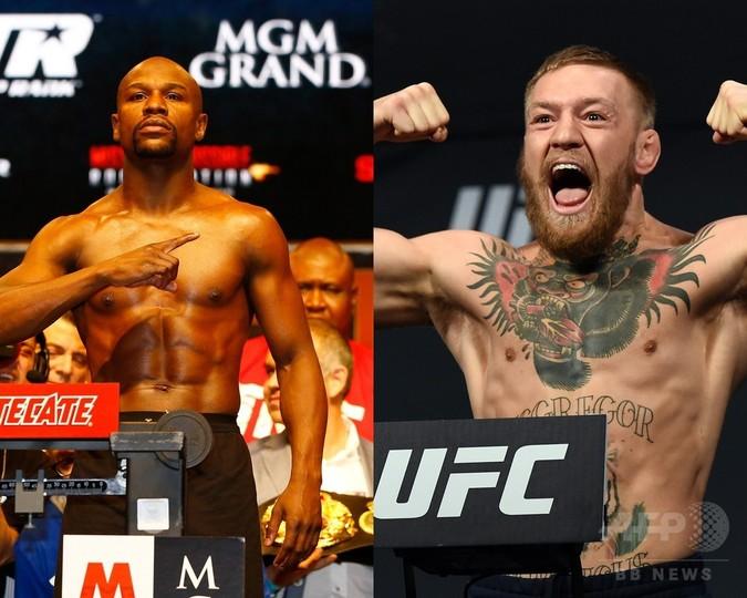 メイウェザー対マクレガーが実現か?UFCが約29億円を提示