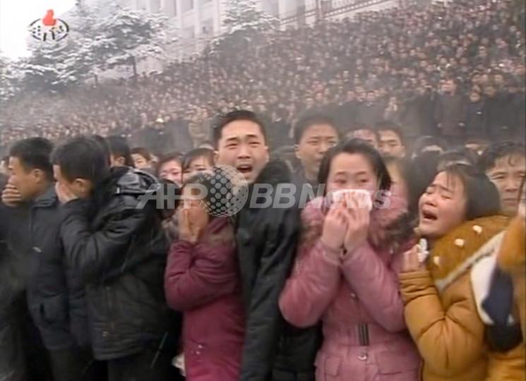 北朝鮮、雪降る金総書記の葬儀で手袋禁止令