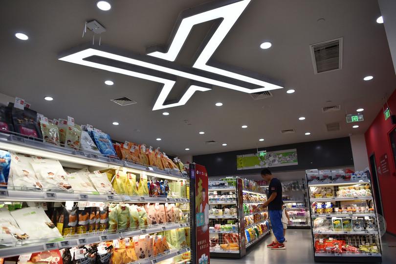 万引きゼロ 天津の無人スーパー開業から半年