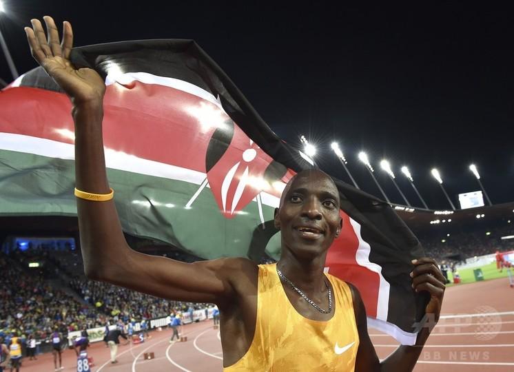 ケニアで再びドーピングか、北京五輪1500m王者に陽性報道