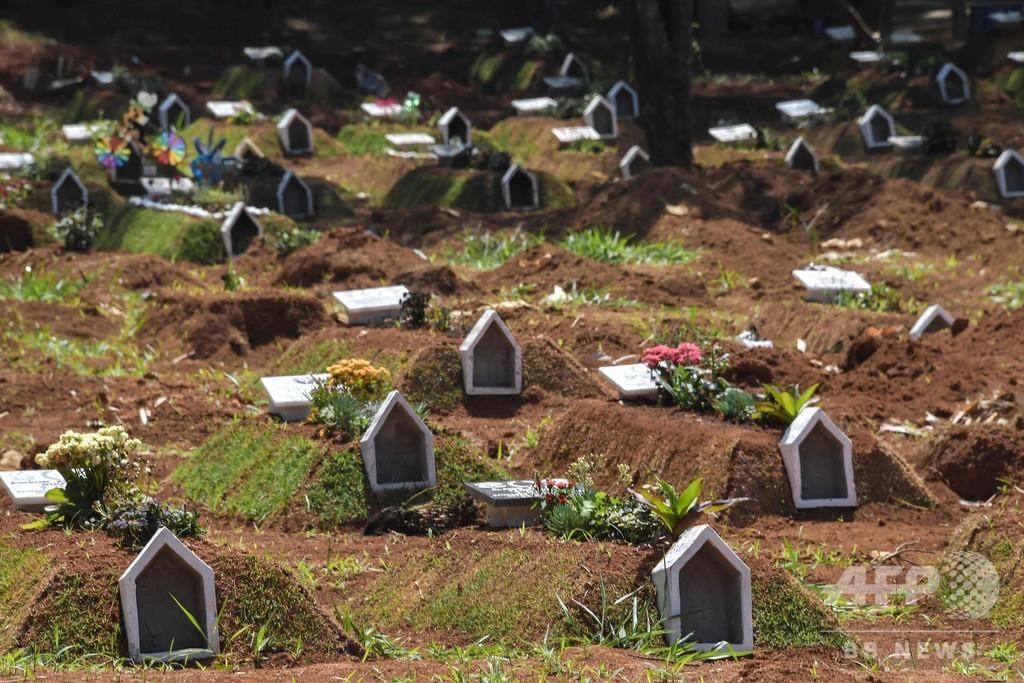 ブラジル、新型コロナ死者15万人超え まだ流行の第1波か