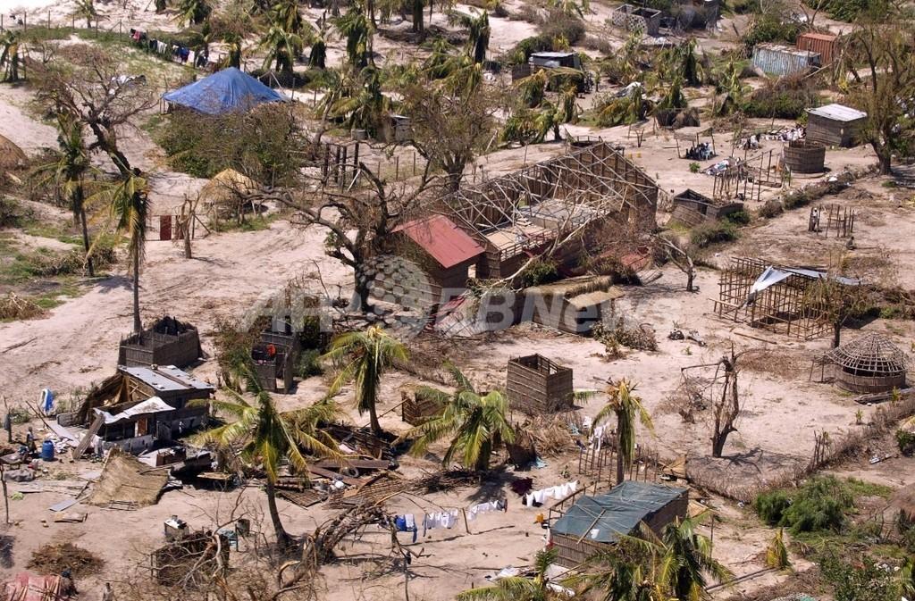サイクロン「Jokwe」がモザンビーク直撃、10人が死亡、2000世帯が避難