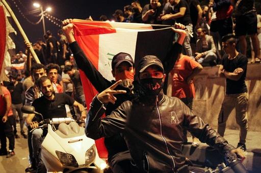 イラク反政府デモ、前倒しで再開 規模拡大の可能性も