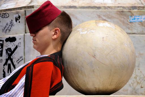 民族舞踏の間に一休み、セルビア