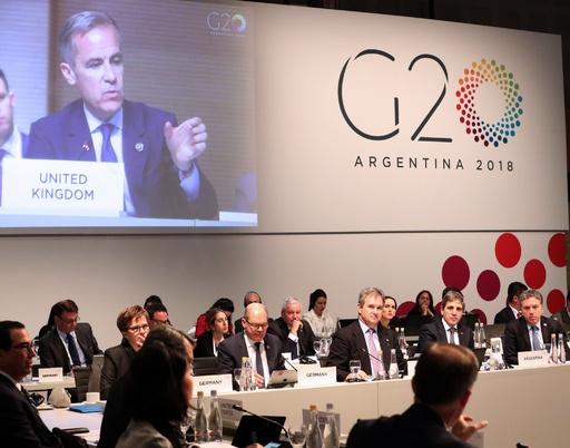 G20閉幕、貿易摩擦が世界経済の成長脅かすと警告