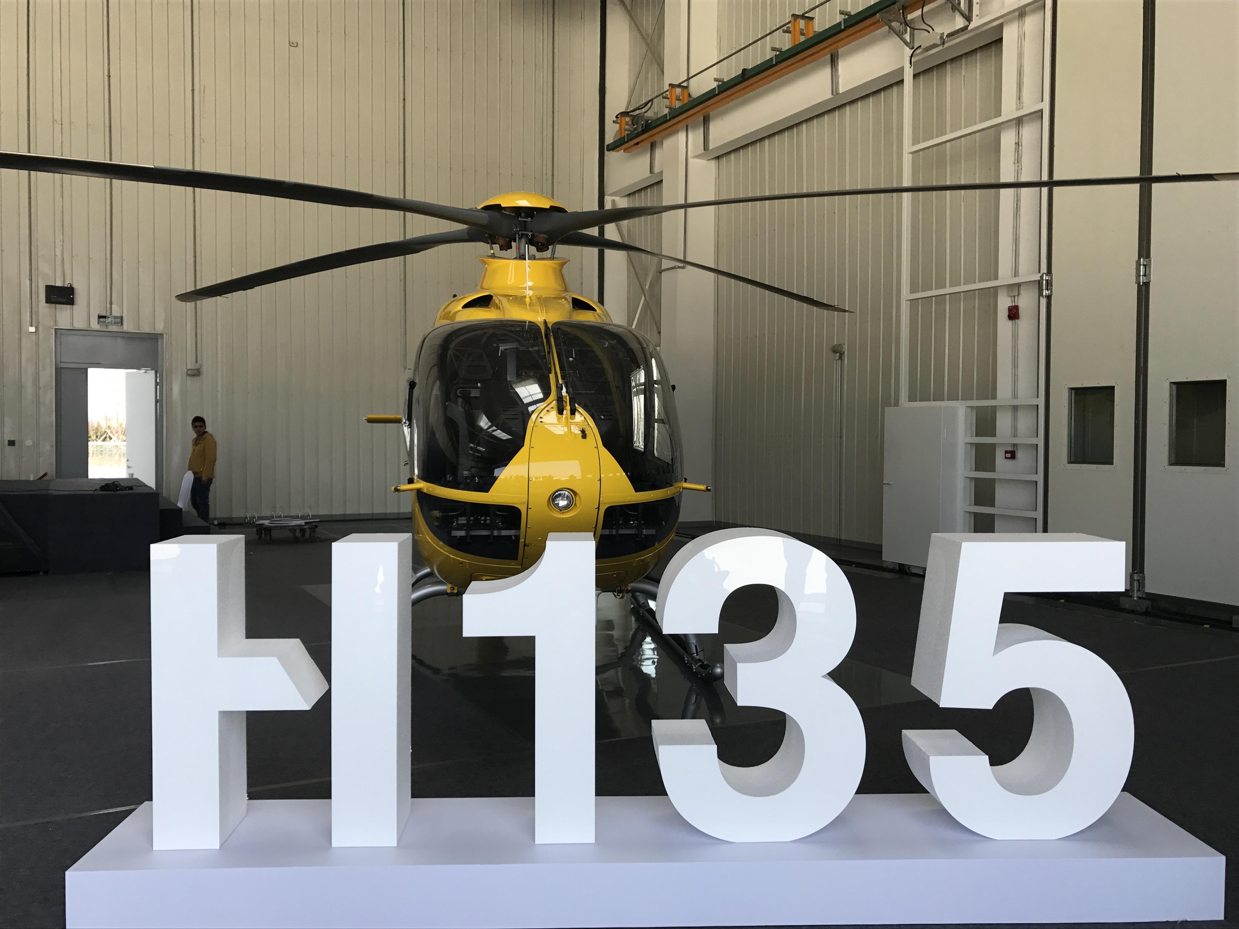 エアバス初の中国ヘリコプター組み立てラインが稼働