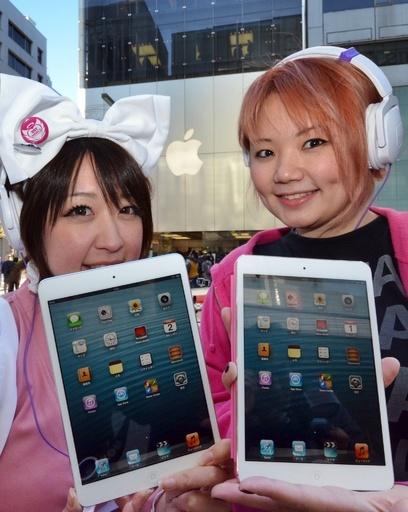 米アップル「iPad mini」、世界で一斉発売