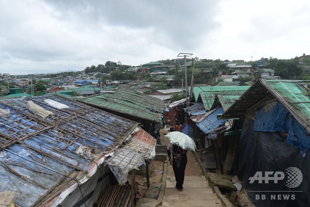 ミャンマーでコロナ拡大、ロヒンギャのキャンプに懸念