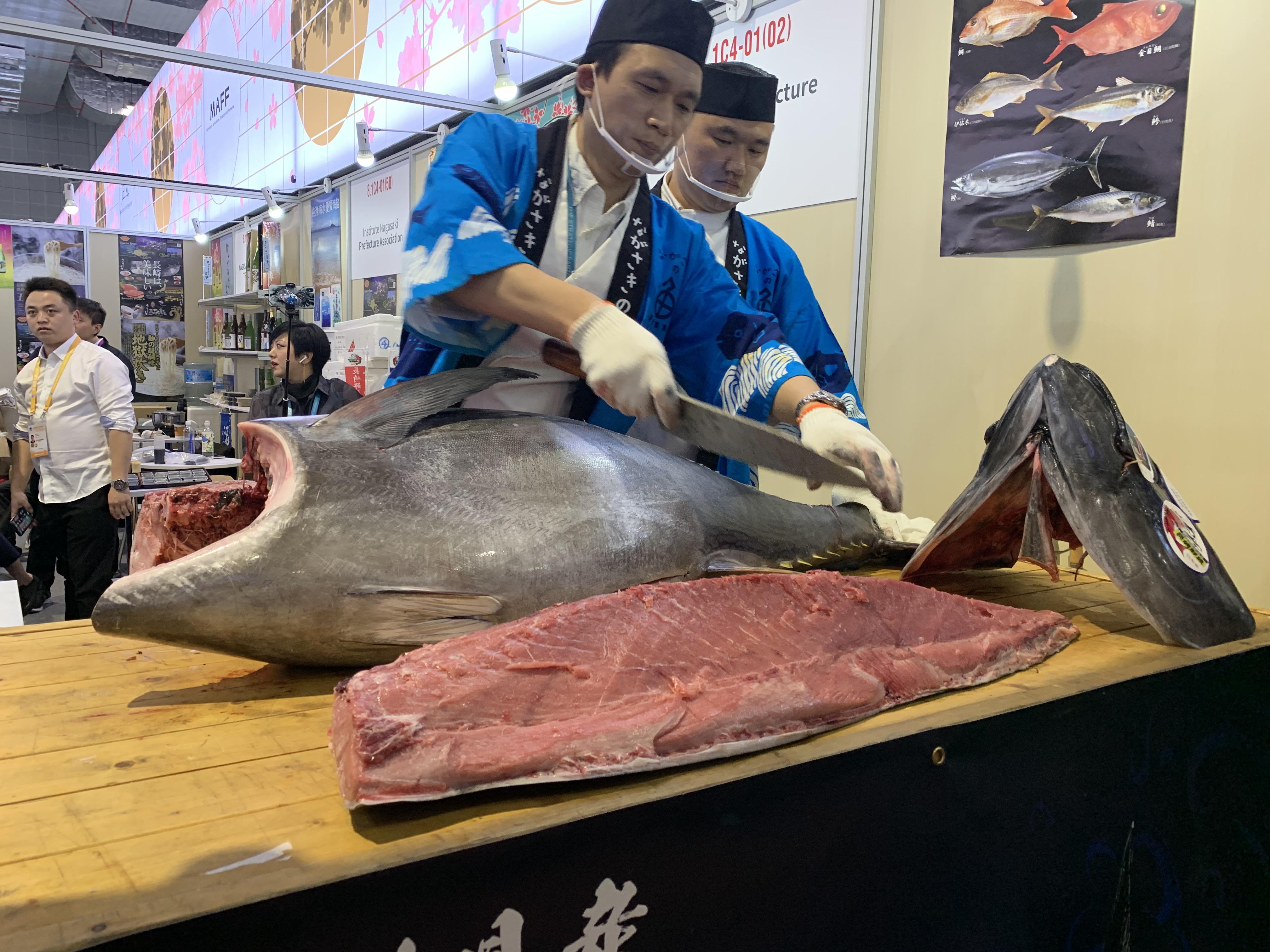 日本各地の「おいしい」がずらり、第2回輸入博のジャパン・パビリオン