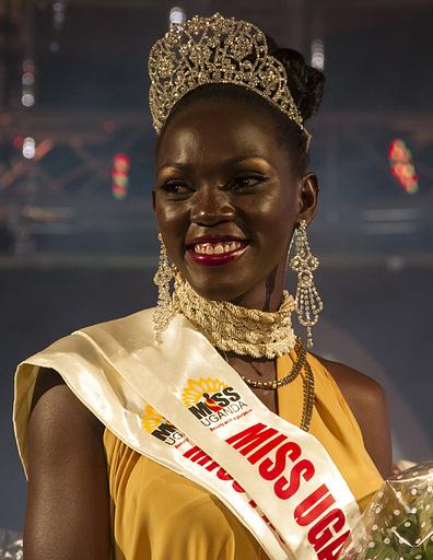 ミス・ウガンダ「農業経験と美」で勝ち抜き
