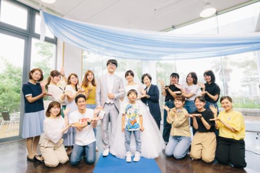 「キャンパスが結婚式場に。」流通科学大学の学生が本物の結婚式をプロデュース。