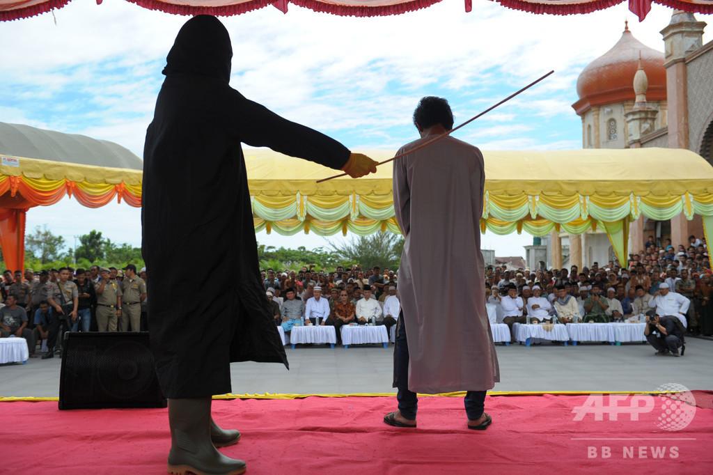 密猟者にむち打ち100回の刑 インドネシア・アチェ州で施行へ