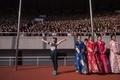 平壌で国際マラソン大会、外国人ランナーとハイタッチも 北朝鮮