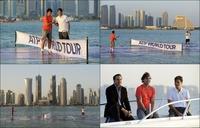 【写真特集】AFPのカメラがとらえたテニス選手のオフショット