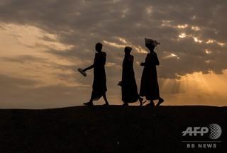 配給に向かう女性を標的、10日間で125人がレイプ被害 南スーダン