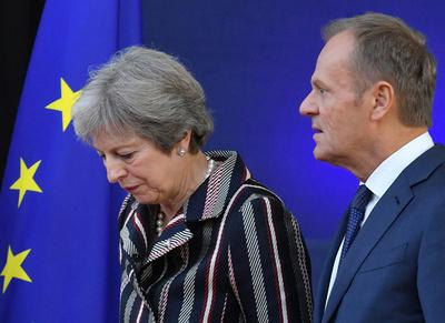 EU離脱交渉、英政府は「極めて懸命」 メイ首相