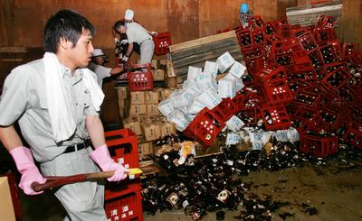新潟県中越沖地震による各社の状況