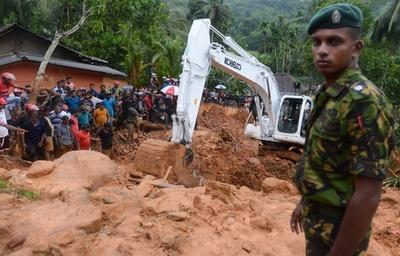スリランカ、洪水・土砂崩れで92人死亡 110人不明