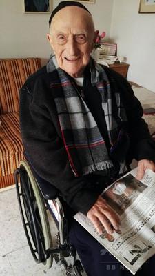 世界最高齢男性はホロコースト生存者112歳か、ギネス世界記録