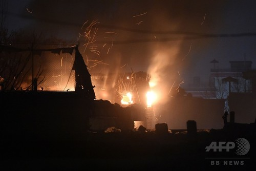 フランス料理店に自爆攻撃、17人死傷 アフガニスタン