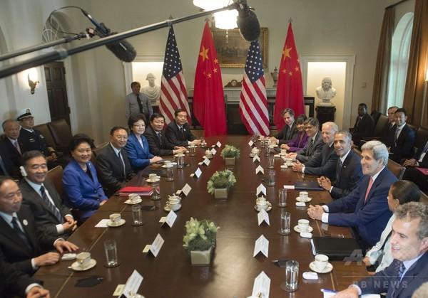 オバマ大統領、中国に緊張緩和の具体策求める サイバー・海洋問題で