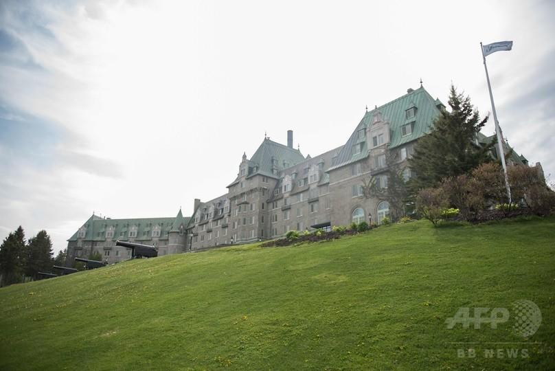 G7サミット終わるまで「堆肥」をまかないで、カナダ・ケベック州