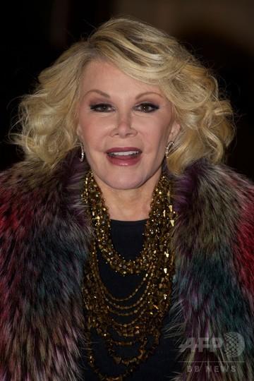 米コメディーの女王、ジョーン・リバーズさん死去 81歳