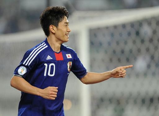 日本8発 タジキスタンに大勝、W杯アジア予選