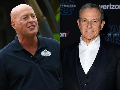 米ディズニー、アイガーCEOが退任 後任はボブ・チャペック氏