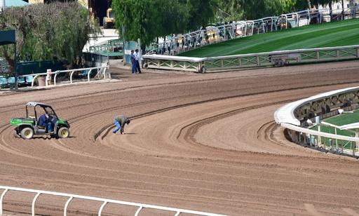 米名門競馬場で相次ぐ馬の死 3か月で23頭目、レース再開から2日