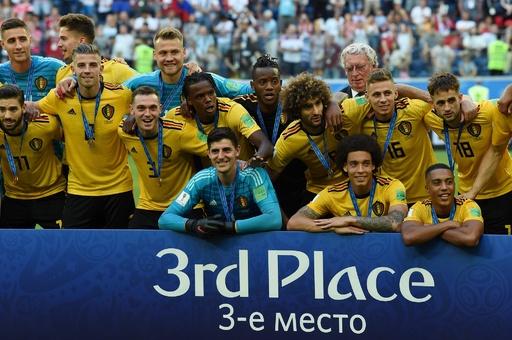 【写真特集】史上最高成績の3位に、ベルギー対イングランド