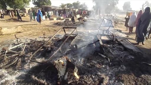 動画:ボコ・ハラムが葬儀襲撃、65人死亡 ナイジェリア