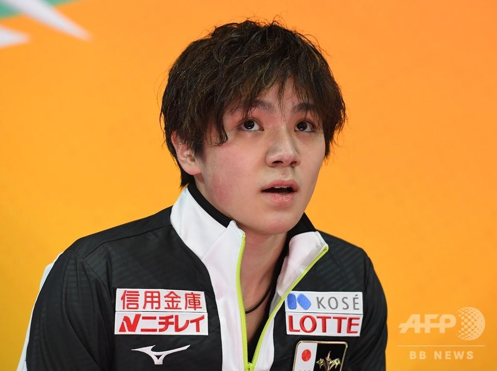 宇野昌磨は4位発進、ゾウがSP首位 四大陸選手権