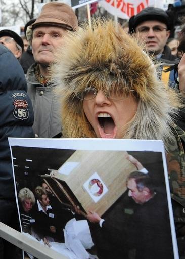ロシア各地で反プーチンデモ、モスクワでは5万人