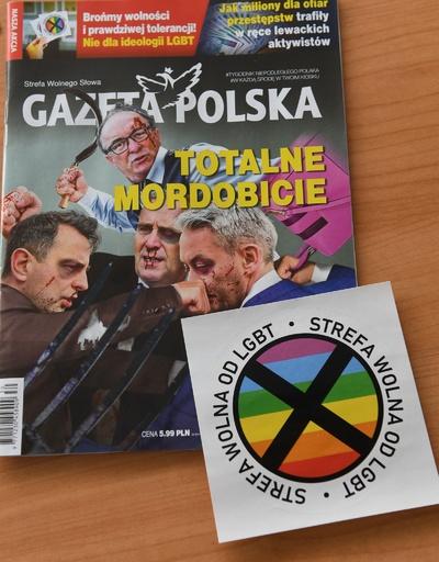 「LGBT禁止区域」ステッカー付き雑誌に一時差し止め命令、ポーランド