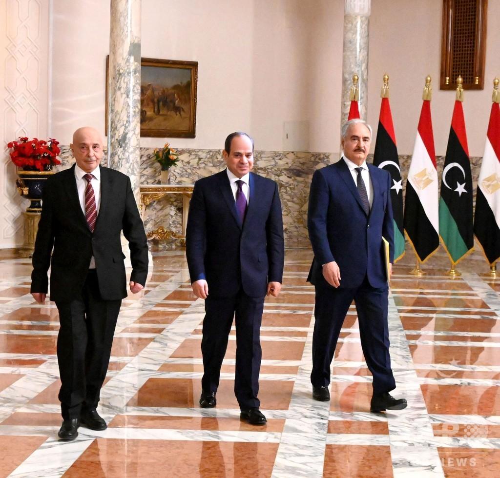 リビア暫定政権、攻勢に ハフタル氏はエジプトの停戦提案支持