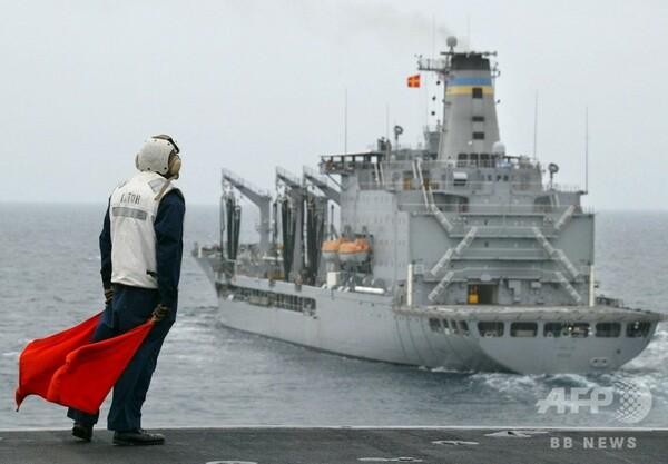 米軍艦2隻、台湾海峡を航行 中国の反発必至